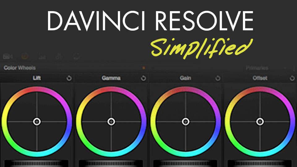 Color Grading in Davinci Resolve 15 Simplified - Premium