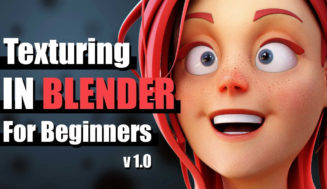 Texturing In Blender For Beginners – Full Course