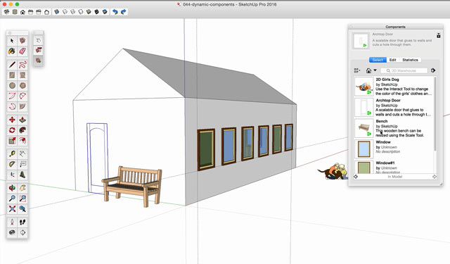 SketchUp Level 2 Organized Modeling - Premium Courses Online