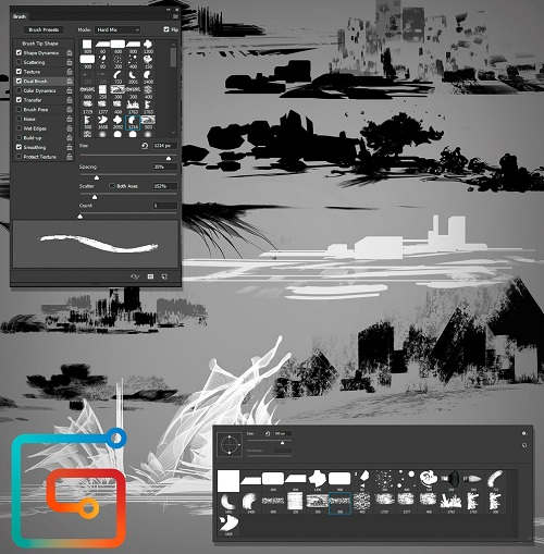 Create a Custom Brushes Set from Scratch in Photoshop - Premium