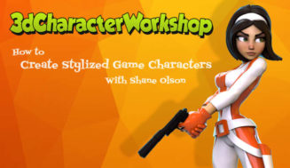 3D Character Workshop – Shane Olson