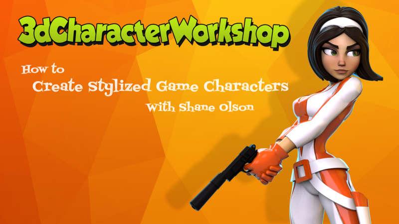 3d Character Workshop Shane Olson Premium Courses Online