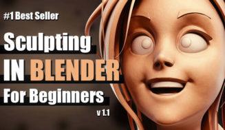 Sculpting In Blender For Beginners – Full Course