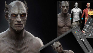 ZBrush Anatomy & Design Package by Rafael Grassetti