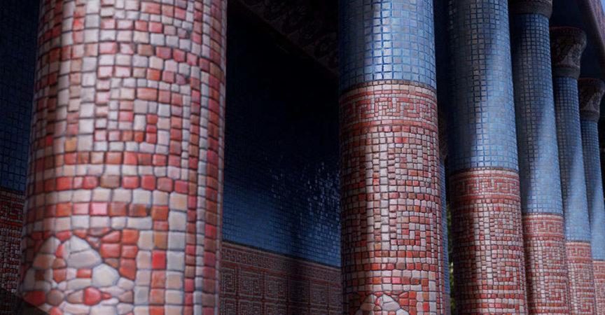 Mosaic Creation Techniques with Substance Designer Vincent