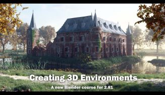 Creating 3D Environments in Blender 2.81 with Rob Tuytel (1080p)
