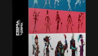 Fundamentals Of Character Design with Ahmed Aldoori