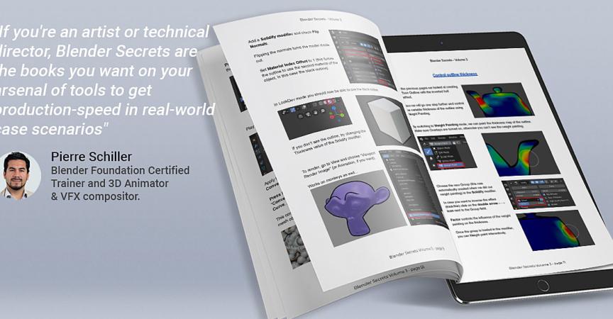Blender Secrets Vol 1 2 3 Ebook Premium Courses Online