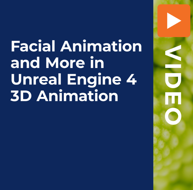 Facial Animation And More In Unreal Engine 4 3d Animation Premium Courses Online